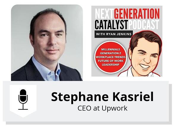 How Millennials and Gen Z Managers Will Reshape How We Work with Stephane Kasriel