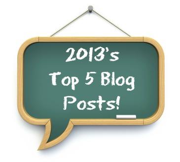 2013's Top 5 Blog Posts