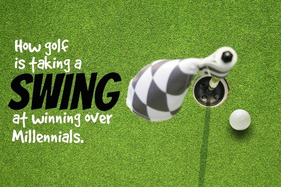How Golf Is Taking A Swing At Winning Over Millennials
