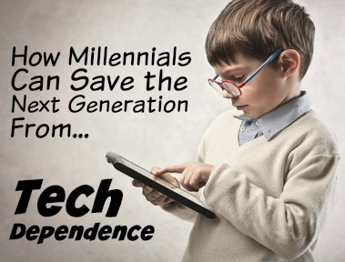 How Millennials Can Save the Next Generation From Tech Dependence