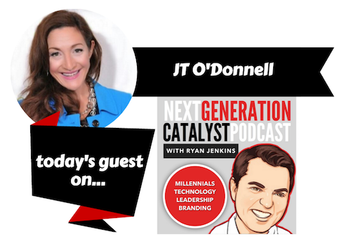 How Millennials (and Anyone Else) Can Sustain a Thriving Career in the 21st Century with JT O'Donnell