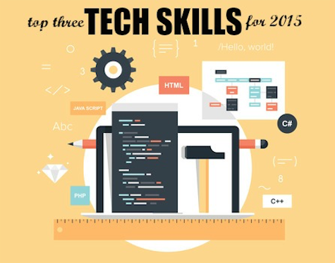 Top 3 Tech Skills You Should Learn in 2015