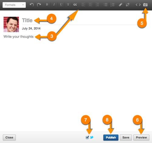 LinkedIn Publishing Screenshot #2