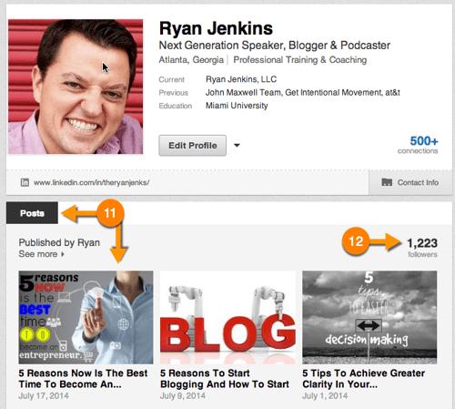 LinkedIn Publishing Screenshot #4