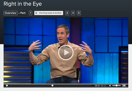 Andy Stanley's Streamable Example