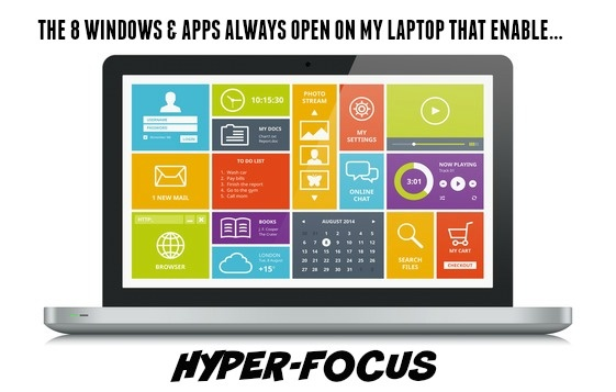 The 8 Windows And Applications Always Open On My Desktop That Enable Hyper-Focus