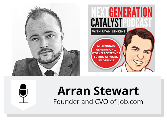 NGC #101 - Recruiting and Reskilling the Workers of the Future with Arran Stewart
