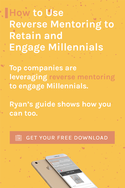 How to Use Reverse Mentoring to Retain and Engage Millennials